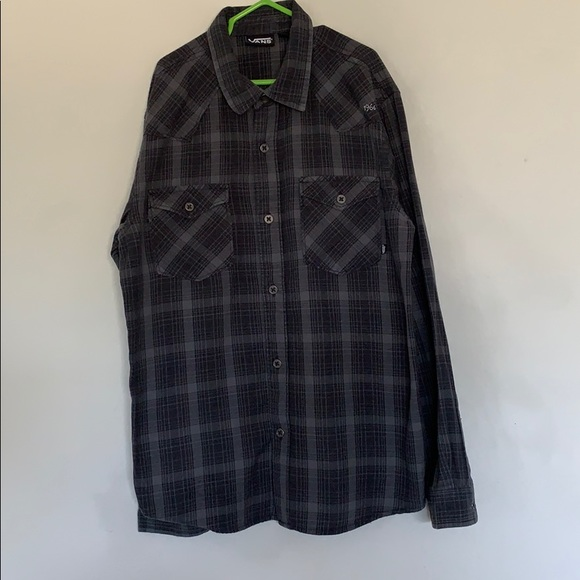 Boys Flannel Shirt Size 8 Medium Top Long Sleeve Button Up School Clothes Plaid